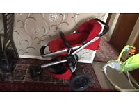 Quinny buzz xtra red pushchair