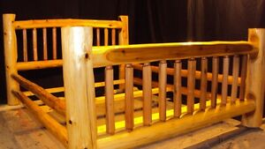 Log Bed Frames and More
