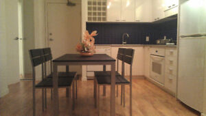 ******** Beautiful Furnished apartment downtown ********