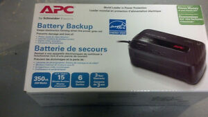 Four APC UPS 350 battery backup units, some good, some dead