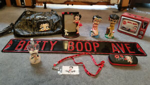 Betty Boop Collection - Purse, Lunchbox, picture Frame + more