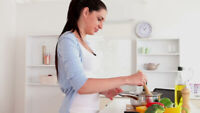 Cook / Housekeeper Needed for Busy North Oshawa Family!