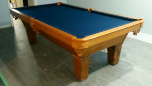 Pool table service repair to all makes models 30 yrs experience