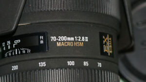 Sigma DG 70-200mm f/2.8 APO HSM EX OS IF Lens For Sony