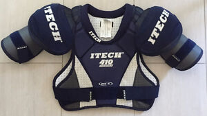ITECH 410 SERIES HOCKEY SHOULDER PADS SP410-M $25 Brand New