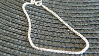Ladies Sterling Silver Wrist Chains