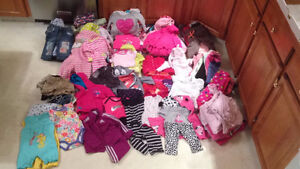 Baby Girl Clothes .. size 6 to 12 mths (Taber)