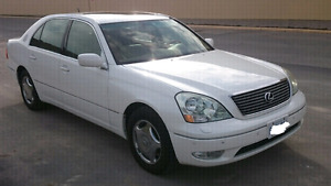 2001 Lexus LS 430 Certified and E-tested