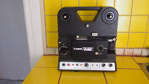 ​​8mm film projector Canon Canosound PS1000 Japan vintage