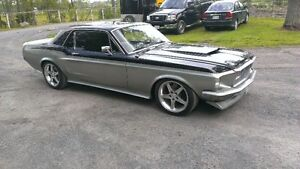 1968 Mustang Coupe Resto Mod
