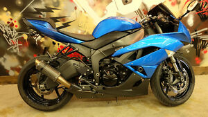 2009 Kawasaki Ninja ZX6R. Every ones approved. Only $119 a month