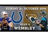 Colts v Jaguars @ Wembley stadium
