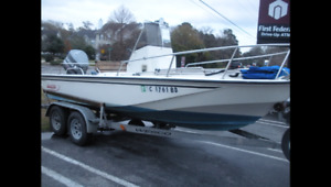 Boston Whaler or Carolina Skiff