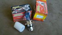 Ampoules de lumières H4 headlight bulbs SUPER WHITE NEW!