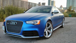 2013 Audi RS5 (Pearl Blue on Lunar Silver)*****