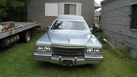 1985 Cadillac Fleetwood light blue Other(estate sale)