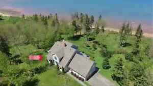 Property for sale, 350ft ocean frontage, Pictou, NS