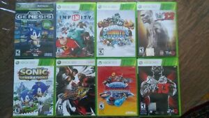 Lot of 8 Xbox 360 games