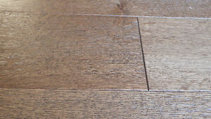 """Click or Nail 5"""" Wire Brushed Hardwood, Incredible Value London Ontario image 3"""