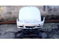 Bmw E90 lci 2009 2010 2011 2012 genuine M sport front bumper + bonnet + slam panel