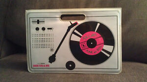 vintage Miss Sixty Handbag purse Turntable record player 90s