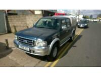 2004 Ford Ranger 2.5TDdi Crewcab 4x4 Pickup XLT Double Cab IFOR WILLIAMS TOP