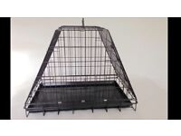Dog or cat cage for car pyramid x2 doors
