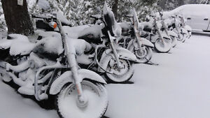 Motorcycle and Scooter Winter storage from $299