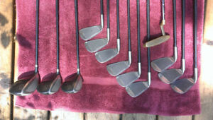 High End - TNT Golf Clubs with bag and accessories