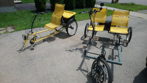 Recumbent bicycle bike trike for adult electric