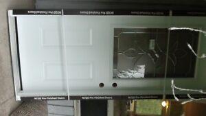 Brand New Door Exterior Door and Frame