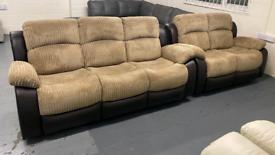 Cord manual recliner 3 and 2 set