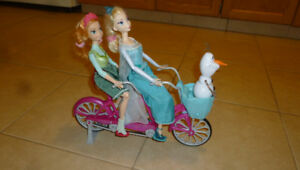 Disney Frozen Anna and Elsa' s Musical Bicycle