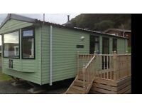 Caravan for hire at Clarach bay. Oct half term £200