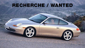 Recherche/Wanted Porsche 911 996 Carrera 2 , 4, 4S Coupe Manual