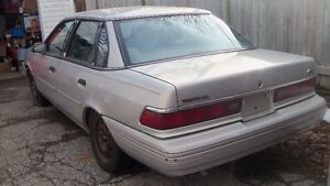1992 FORD TEMPO FOR PARTS