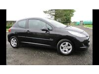 PEUGEOT 207 VERVE 2010 ONLY 34000 MILES £2950