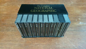 Complete National Geographic 1888- 1990's on CDs,