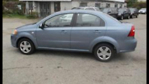 2007 Pontiac Wave Sedan 2500$ safetied