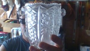 Crystal Vase with handles