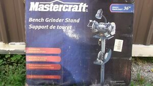 MASTERCRAFT BENCH GRINDER STAND London Ontario image 1