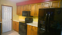Oak Cabinets - Full Set Kitchen Cupboards--PRICE REDUCED TO SELL