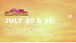 2 day pass to Chasing Summer EDM Music Festival