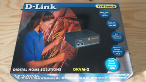 D-Link Two Port KVM Switch