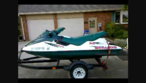 Seadoo and boat for trade