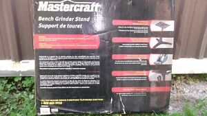 MASTERCRAFT BENCH GRINDER STAND London Ontario image 2
