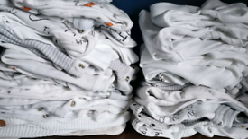 Large Bundle unisex Gender Neutral Baby Clothes 0-3 Months