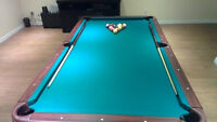 Table de billard a vendre