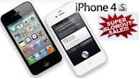 iPhone 4S  INVENTORY BLOWOUT SALE!!  DON'T MISS IT!!!