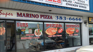 Well Running pizza Restaurant Private Sale In Hamilton